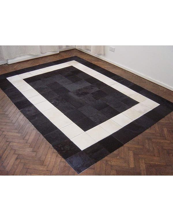 Patchwork Cowhide Rugs - Hide Rugs