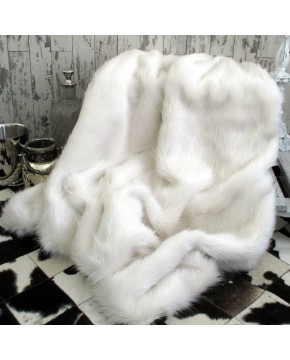 Deluxe Polar Faux Fur Throw