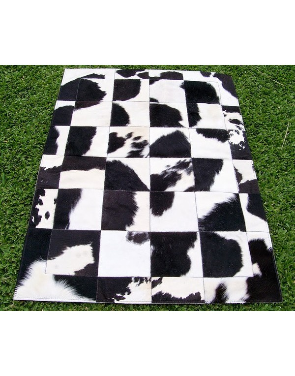 White Cowhide Rugs for luxurious interiors in the US