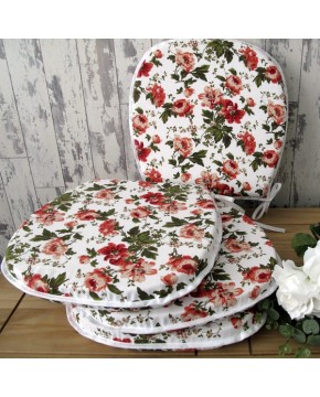 English Rose Classic D Rounded Seat Pads
