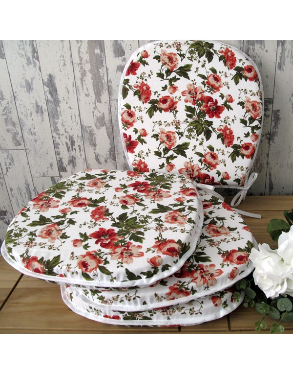 Seat Pads & Cushions, English Rose Classic D Rounded Seat Pads , faux-fur-throws