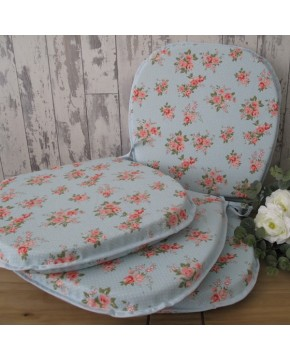 Chantilly Rose Classic D Rounded Seat Pads