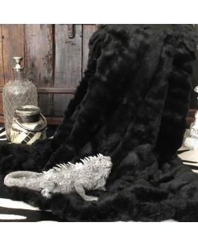 Black Panther Faux Fur Throw