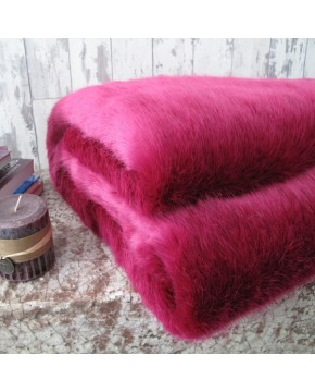 Faux Fur Throws, Faux Fur Throw New Milano Magenta , faux-fur-throws