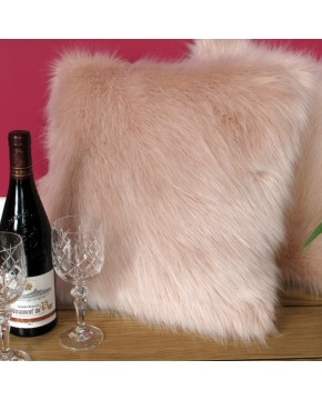 Candyfloss Faux Fur Cushion