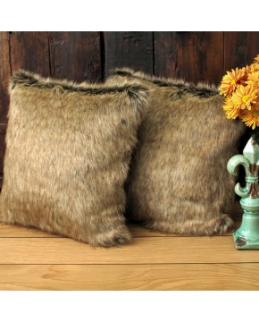 Faux Fur Cushions, Mink Faux Fur Cushion , faux-fur-throws
