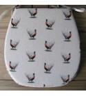 Small Pheasants reversible classic D seat pads