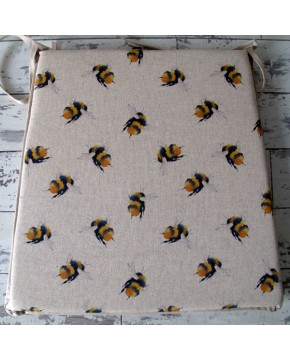 Small Bees reversible tapered seat pads