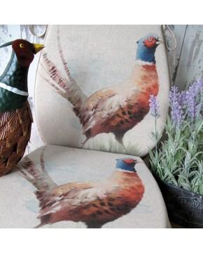 Pheasant reversible classic D seat pads