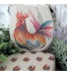 Rooster reversible classic D seat pads