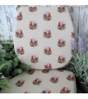 Small Roosters reversible classic D seat pads
