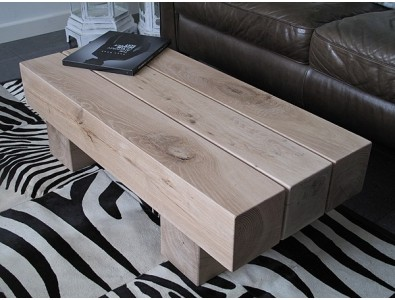 Oak Coffee Tables, Rustic Oak Coffee Table 3 Beam Light , faux-fur-throws