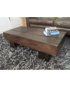 Dark Oak Coffee Table 3 Beam