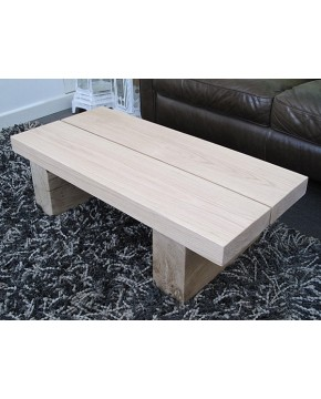Light Oak Coffee Table 2 Board