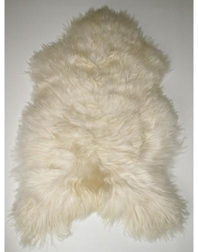 Sheepskin Rugs, Creamy White Icelandic Sheepskin Rug 0117 , faux-fur-throws