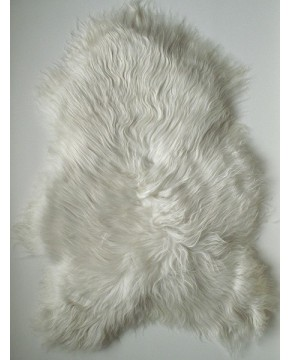 Sheepskin Rugs, Ivory White Icelandic Sheepskin Rug 0120 , faux-fur-throws