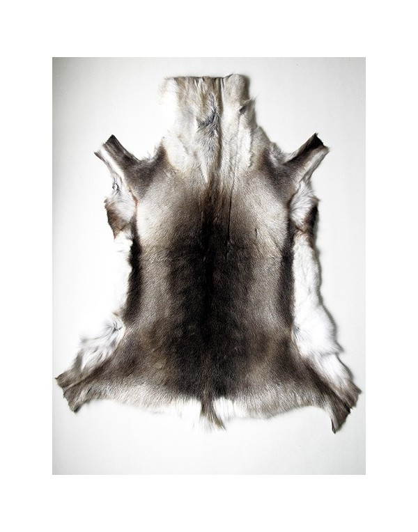 Reindeer Skin Rugs, Large Size Reindeer Skin Rug 0046L , faux-fur-throws
