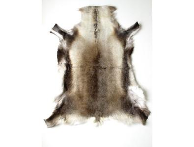 Reindeer Skin Rugs, Medium Reindeer Skin Rug 0045M , faux-fur-throws