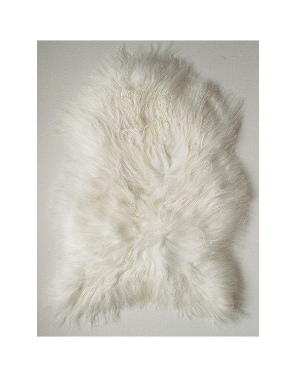 Sheepskin Rugs, Natural Ivory Icelandic Sheepskin Rug 0111 , faux-fur-throws