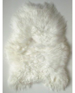 Natural Ivory Icelandic Sheepskin Rug 0112