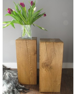 Oak Side Tables Medium