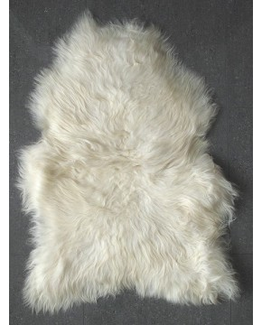 Natural Ivory Icelandic Sheepskin Rug 0141
