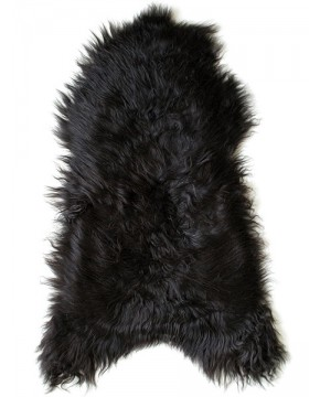 Sheepskin Rugs, Blacky Brown Icelandic Sheepskin Rug 0136 , faux-fur-throws