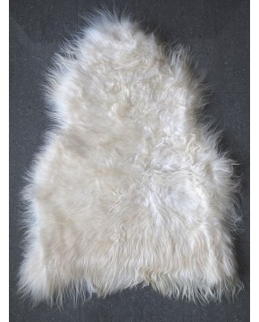 Sheepskin Rugs, Creamy White Icelandic Sheepskin Rug 0140 , faux-fur-throws