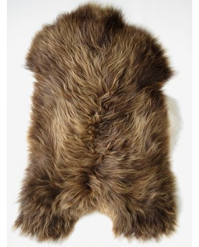 Rusty Brown Icelandic Sheepskin Rug 0128