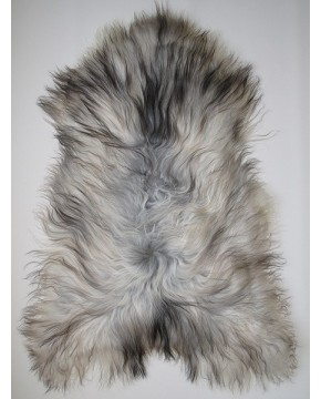 Grey Icelandic Sheepskin Rug 0126