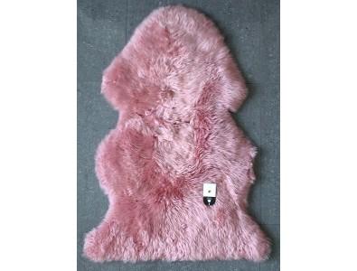 Sheepskin Rugs, Pink Sheepskin Rug 0131 , faux-fur-throws