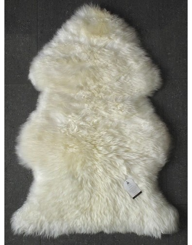 Sheepskin Rugs, Natural Creamy White Sheepskin Rug 0130 , faux-fur-throws
