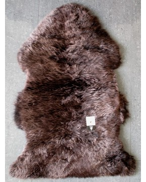 Sheepskin Rugs, Chocolate Brown Sheepskin Rug 0135 , faux-fur-throws