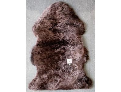 Sheepskin Rugs, Chocolate Brown Sheepskin Rug 0135 , faux-fur-throws