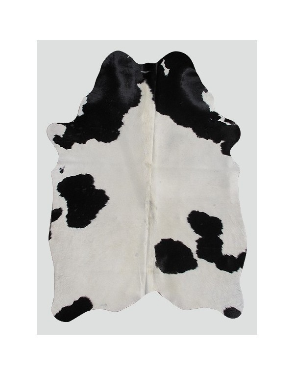 Cowhide Rugs, Cream Black Cowhide Rug CH0007 , faux-fur-throws