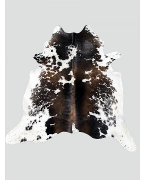Tri coloured Cowhide Rug CH0009