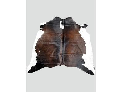 Cowhide Rugs, Dark Brown & White Cowhide Rug CH0011 , faux-fur-throws