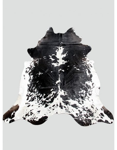 Cowhide Rugs, Large Black & White Cowhide Rug CH0015 , faux-fur-throws