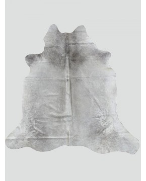 Large Light & Mid Grey Cowhide Rug CH0017