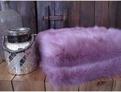 Faux Fur Throws, Faux Fur Throw Foxglove , faux-fur-throws