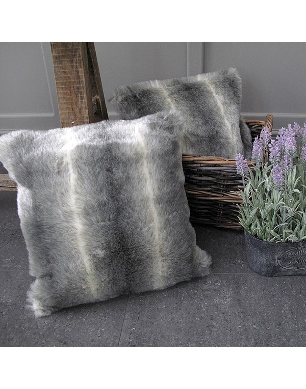 Lemur Faux Fur Cushion