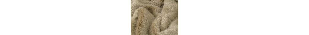 Plain Faux Fur Throws