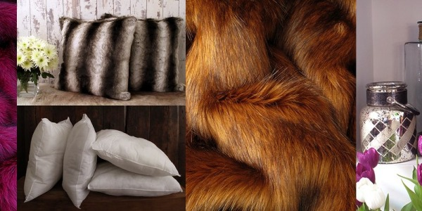 Faux Fur Throws & Cushion Covers